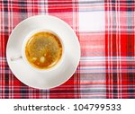 coffee on a breakfast table - stock photo