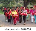 Chinese Band - stock photo