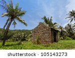 Living on La Digue, Seychelles, Africa - stock photo