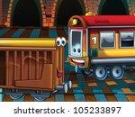 Happy wagons - stock photo