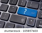 computer system problem, also for confused, unknown, error, malfunction or ask question. - stock photo