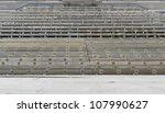 lots of wooden tiers seen in Salzburg, Austria - stock photo