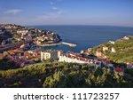 mediterranean sea coast - stock photo