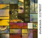 Mondern Art based Abstract - stock photo