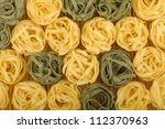 Italian pasta background texture - stock photo