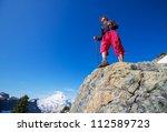 hiking in Mt.Baker area, Washington - stock photo