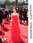 LOS ANGELES, CA - SEP 15: Elizabeth Gillies at the Academy Of Television Arts & Sciences 2012 Creative Arts Emmy Awards held at Nokia Theater L.A. LIVE on September 15, 2012 in Los Angeles, California - stock photo