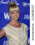 BEVERLY HILLS - SEP 21:  Jaime Pressly at the 'Variety and Women in Film Pre-Emmy Event' at Scarpetta on September 21, 2012 in Beverly Hills, California - stock photo