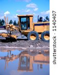 Earth Moving Equipment - stock photo