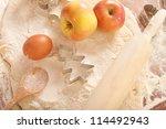 baking background - stock photo