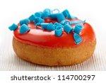 baked donut - stock photo