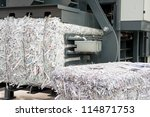 Paper strips - stock photo