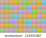 Colored tiles background - stock photo