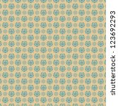 Retro background abstract. Seamless pattern.  Creative. Vector. - stock vector