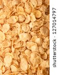 Photo of the cornflakes for texture or background - stock photo