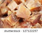 Dried seafood - stock photo