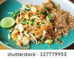 Stir Thailand is famous for its delicious food and Thailand. - stock photo