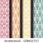 Retro background - stock vector