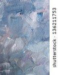 Texture blue oil - stock photo