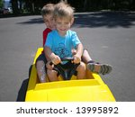Carpooling - stock photo
