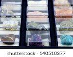 Precious stones collection - stock photo