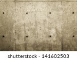 Concrete wall for texture or background - stock photo