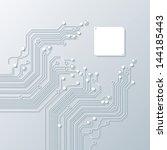 abstract background vector high tech - stock vector
