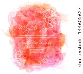 Abstract hand drawn watercolor background,vector illustration, stain watercolors colors wet on wet paper. Watercolor composition for scrapbook elements with empty space for text message. - stock vector