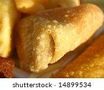 Fried wanton - stock photo