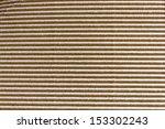 Corrugated cardboard texture - stock photo