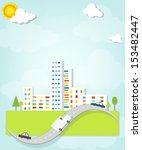 Urban landscape - stock vector