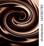 Chocolate background - stock photo