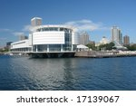 A picture of Milwaukee architecture on the lake front - stock photo