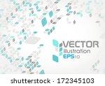 Simple Geometric Pattern. Vector Illustration. Eps 10. - stock vector