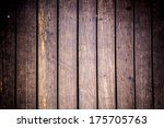 Background of wooden board with center soft light - stock photo