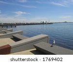 Pier at Geelong (Australia) - stock photo