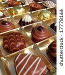 Swiss Chocolate - stock photo
