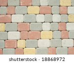 paving stones great as a background - stock photo