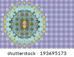 Colorful abstract background kaleidoscope design. - stock photo