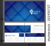 Brochure Template Design.  Vector Illustration. Eps 10. - stock vector