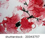 Abstract Watercolor 13 - stock photo