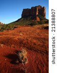 Courthouse Butte - stock photo