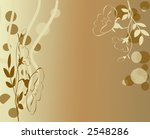 Abstract Neutral feminine cream background design - stock photo