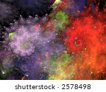 Abstract Formation design illustration - stock photo