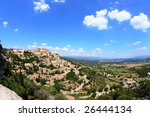 Château De Gordes, Provence, France - stock photo