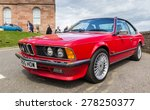 INVERNESS, SCOTLAND - MAY 9: BMW M6 on May 9, 2015 in Inverness, Scotland. - stock photo