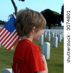 American Grief - stock photo