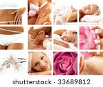 SPA collection - stock photo