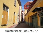 Old town Tallinn, Estonia - stock photo