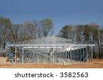 Self Storage Building Construction - stock photo